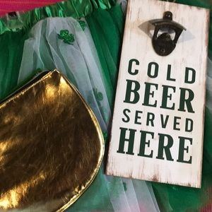 Other - 🆕Cold Beer served here sign 🍻 /St Patrick's Day